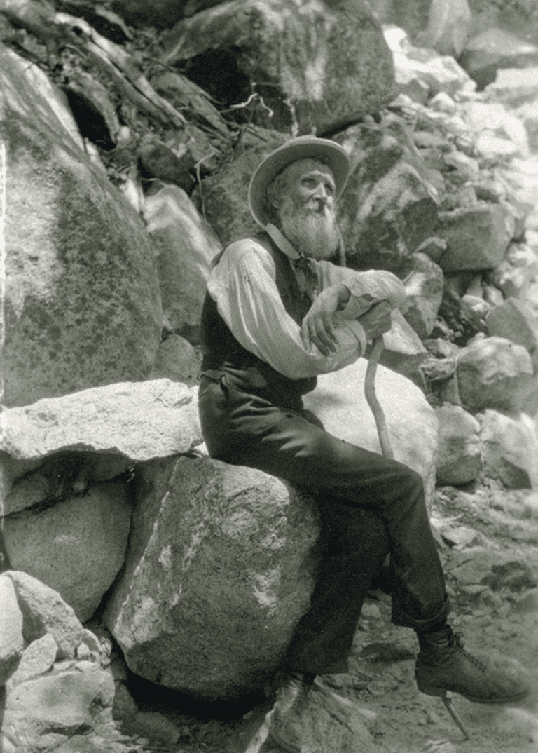 The trail is named in honor of Scottish environmentalist John Muir | © Public Domain/Wikicommons