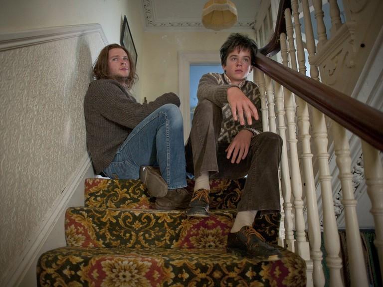 Jack Reynor and Walsh-Peelo in Sing Street (Lionsgate)