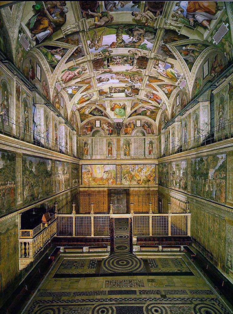 Sistine Chapel | © WikiCommons