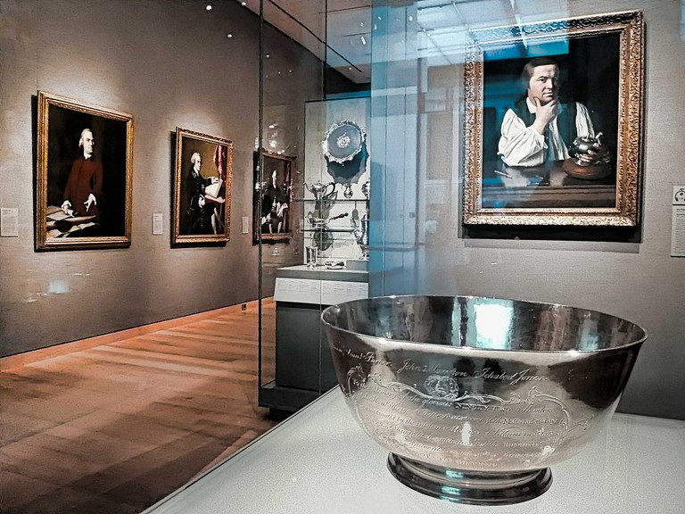 The Sons of Liberty Bowl at the MFA| ©BostonHistoryGuy/Flickr