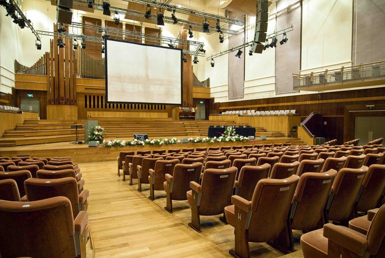 Flagey's Studio 4, famed for its near perfect acoustics and home to the Brussels Philharmonic | Courtesy of Flagey