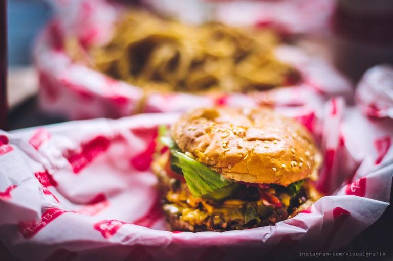 Burger delights at Tasty Burger