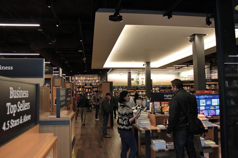 Amazon Books store in Seattle