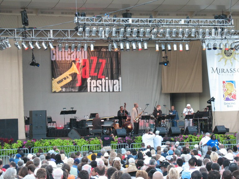 The Chicago Jazz Festival, courtesy of Wikipedia