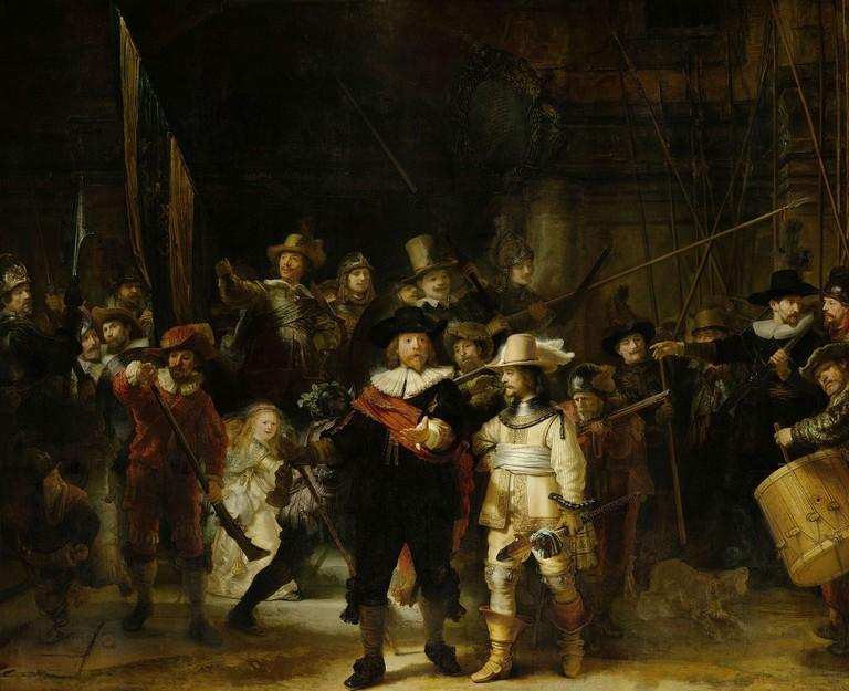 Rembrandt van Rijn: The Night Watch, 1642 | © The Rijksmuseum / Wikicommons