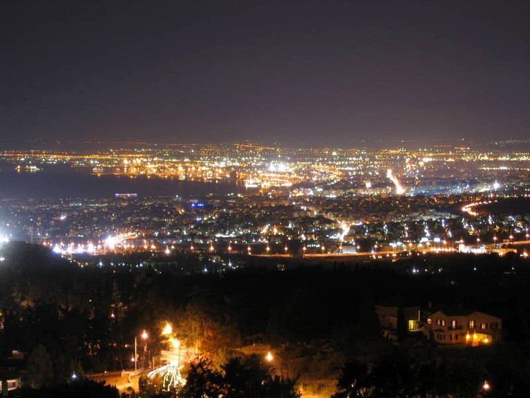 Thessaloniki from Panorama | © Salonica84/WikiCommons