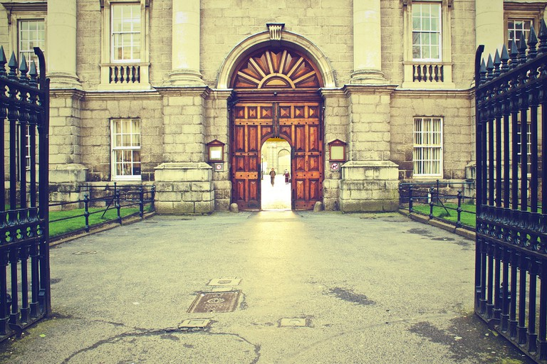 Trinity College front gate | © Picography/Pixabay
