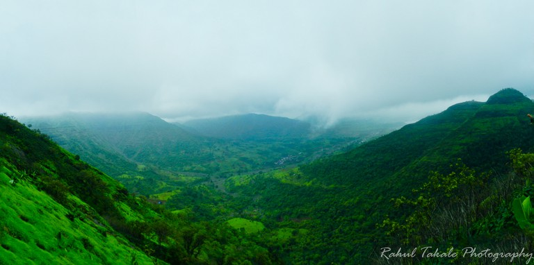 View from Vikatgad