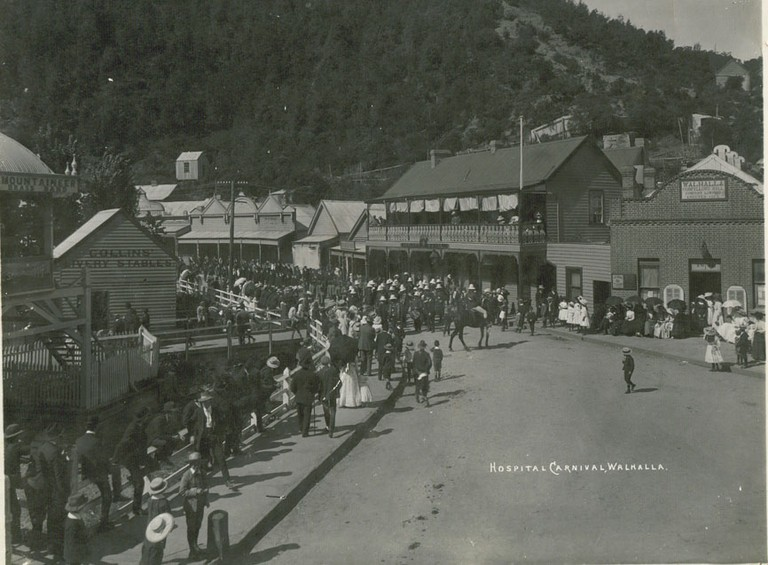 Walhalla 1910 Hospital carnival