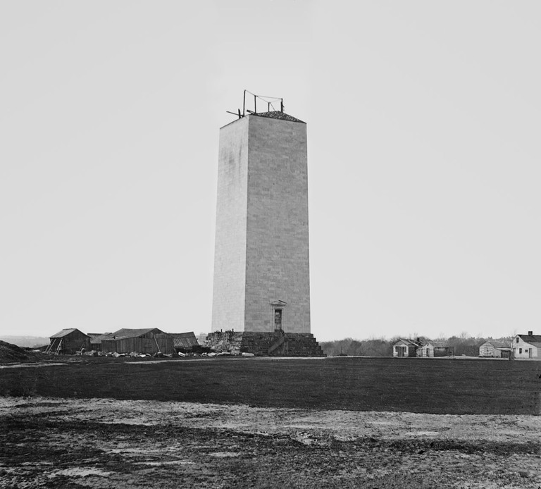 How The Washington Monument Remained For Twenty Years