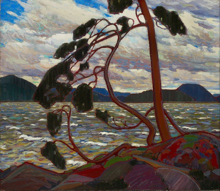 Tom Thomson, 'The West Wind', Winter 1916-1917