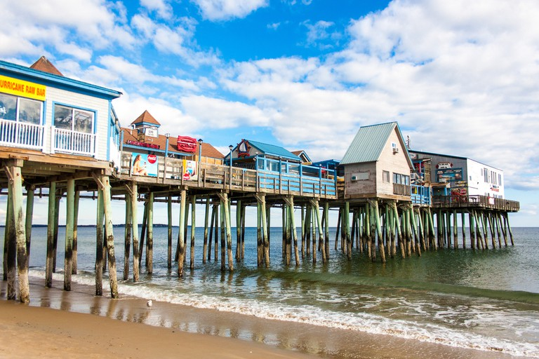 Old Orchard Beach Pier | © Paul VanDerWerf/Flickr