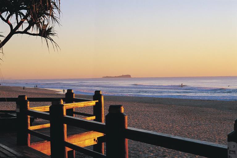 Maroochydore Beach, View to Old Woman Island | Courtesy of Tourism and Events Queensland