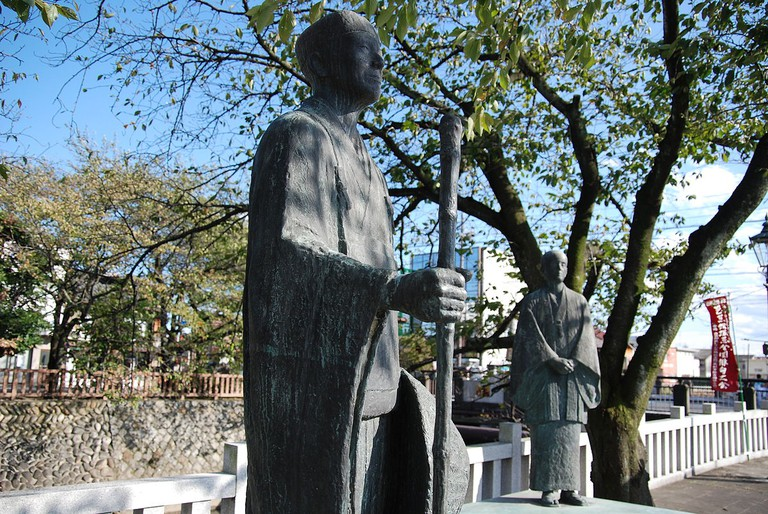 A statue of Matsuo Basho | © Kichiverde/WikiCommons