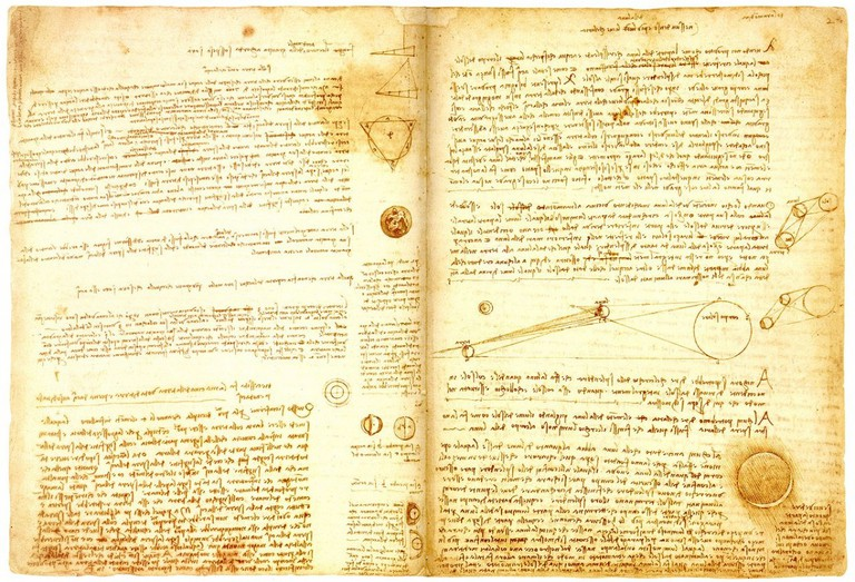 Leonardo Di Vinci's 'Codex Leicester' | © Philippe Kurlapski