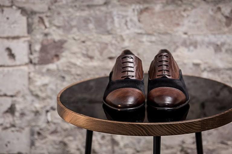 Leather shoes | Courtesy of de Burgh's Shoes