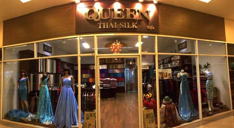 Outside Queen Thai Silk