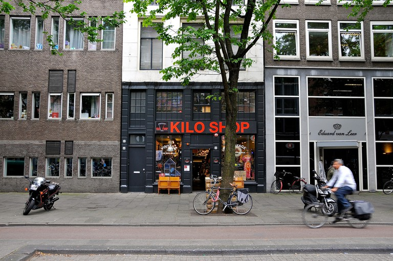 Amsterdam's largest Kilo Shop on Waterlooplein