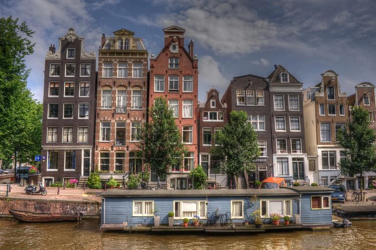 Restaurant Johannes is on Herengracht, a beautiful canal that passes through de Negen Straatjes