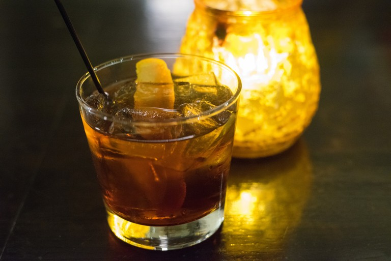 A vermouth cocktail