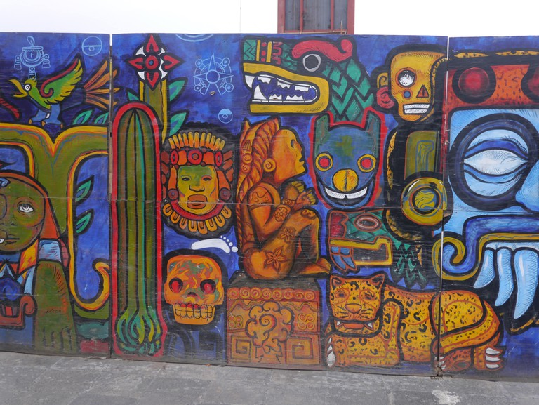 Mexico City murals
