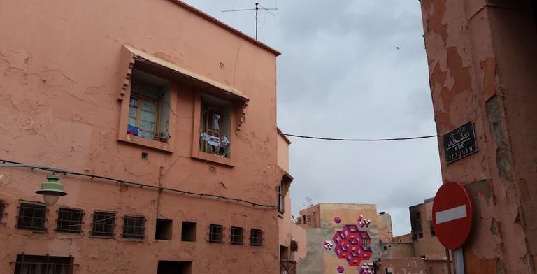 Street art in Marrakech © Mandy Sinclair