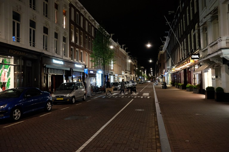 The P.C. at night
