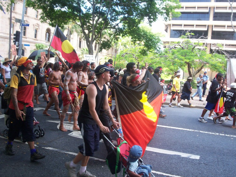 Invasion Day Rally & March | © David Jackmanson / Flickr