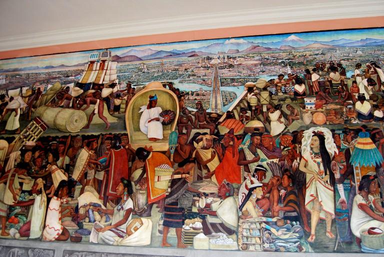 La Gran Tenochtitlan   © Miguel Angel Anvarez Bernardo/Flickr