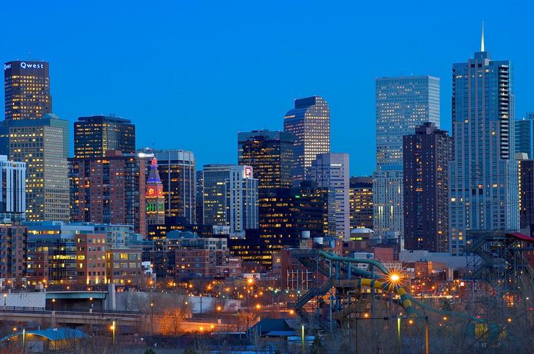 Denver Skyline at Sunset | © Larry Johnson/Flickr