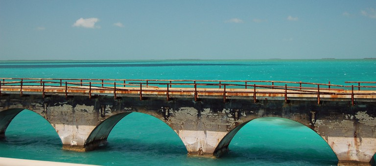 The Old Seven Mile Bridge | Photo courtesy of Michael Ostendorp/Flickr