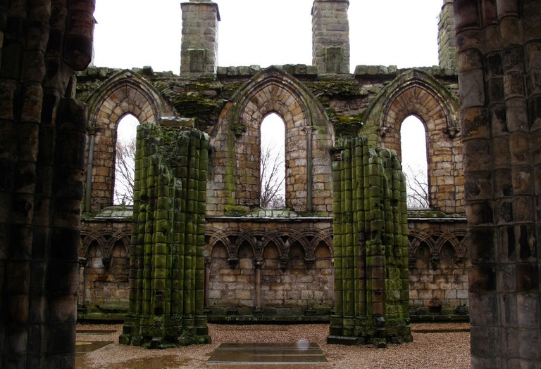 Holyrood Abbey | © schizoform/Flickr