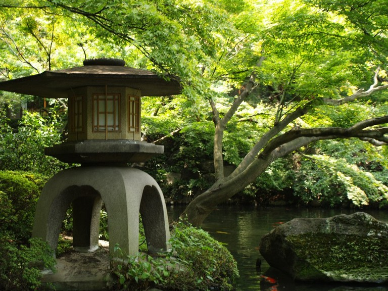 Garden features at Happo-en | © Jon Blathwayt/Flickr