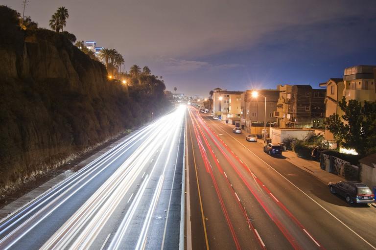 Pacific Coast Highway at Night | © John McStravick/Flickr