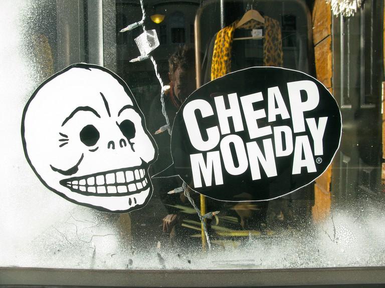Zipper sells Cheap Monday jeans