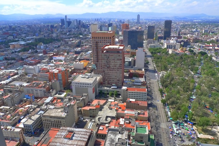 View from Torre Latinoamericana