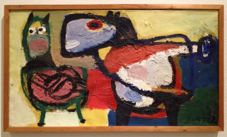 Karel Appel: Dieren n.5, 1950