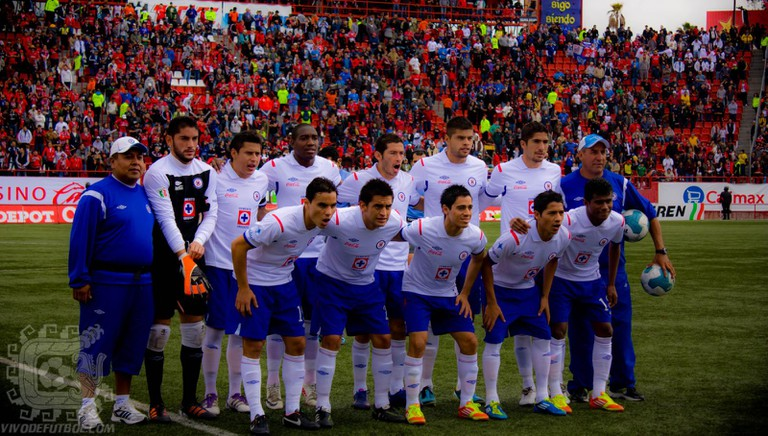 Cruz Azul team in 2012 | © Hefebreo/Flickr