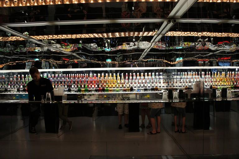The bar at House of Bols
