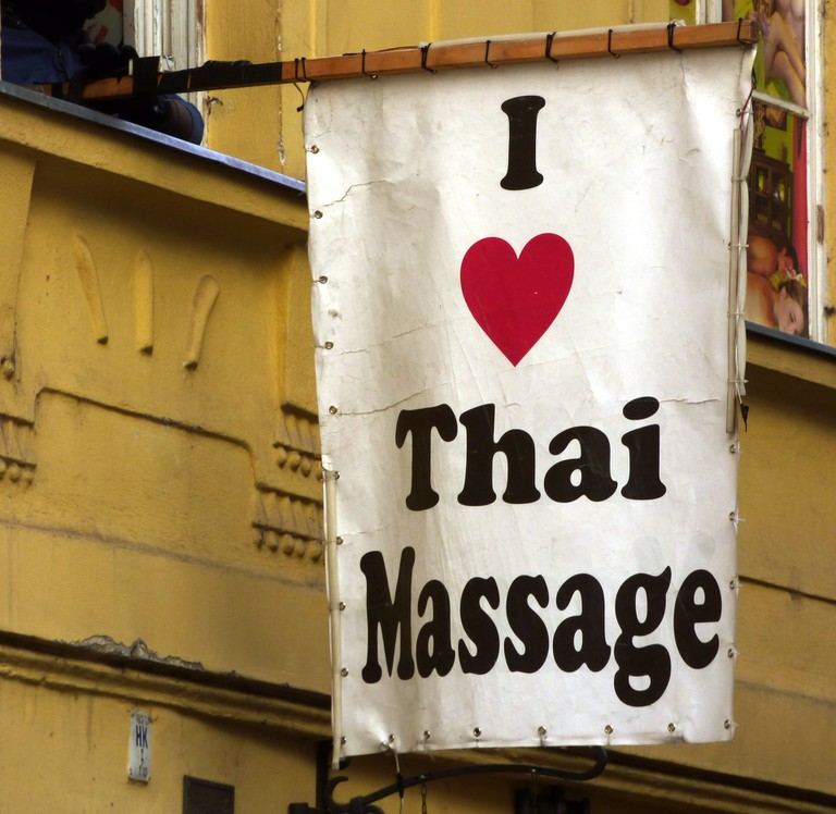 Advertisement For Massage