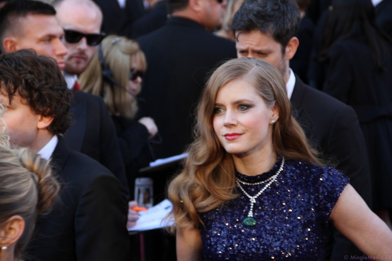 Amy Adams at the 83rd Academy Awards Red Carpet l© Courtesy of Red Carpet Report on Mingle Media TV