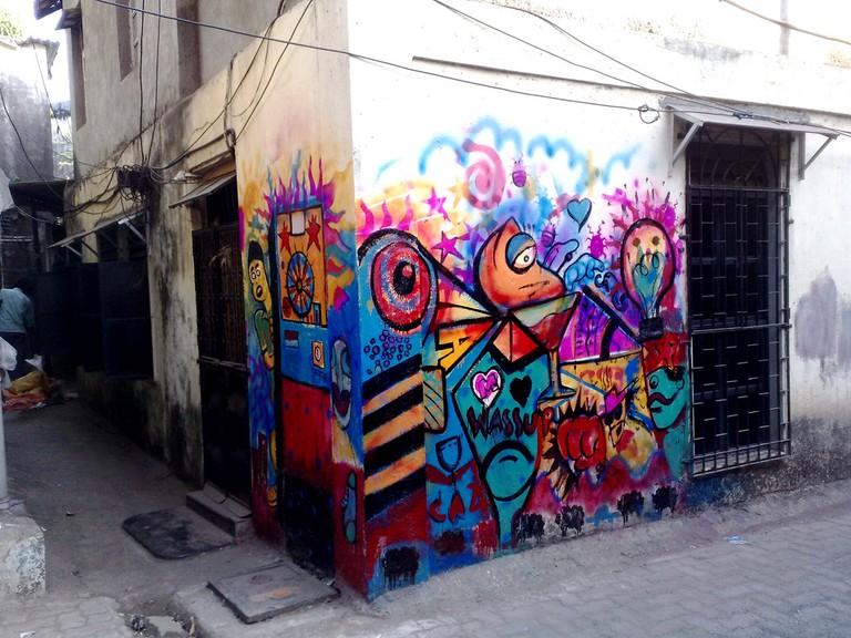 Street Art In Bandra|©SatishKrishnamurthy/Flickr