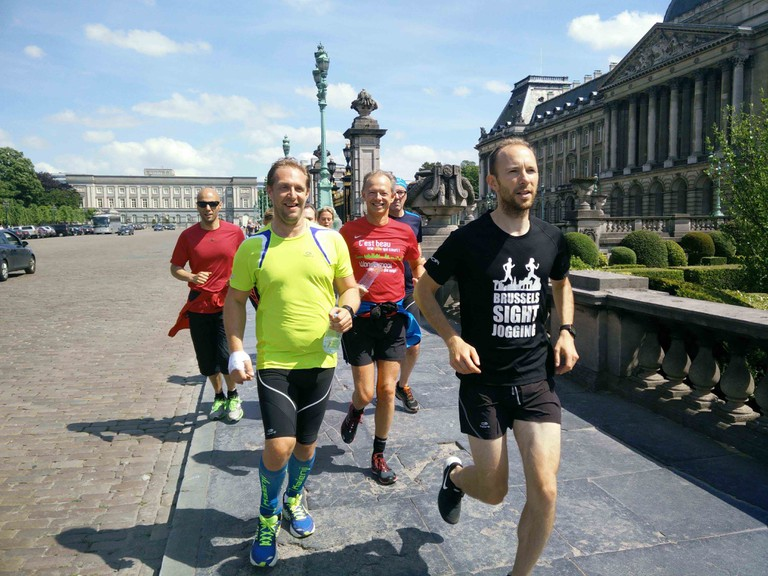 Experienced marathon runners with a love for Brussels offer another way of exploring the capital | © Brussels SightJogging