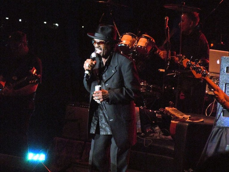 Chuck Brown Performs