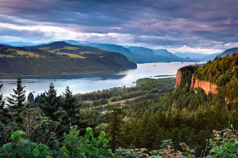 Columbia River Gorge | © Bala/Wikicommons