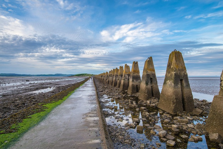 Cramond Causeway © Chris Combe/Flickr