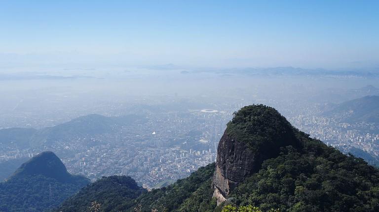 From the top of Pico da Tijuca