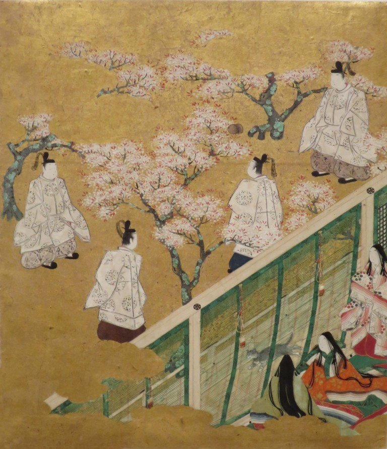 From chapter 34 of The Tale of Genji | by an anonymous artist/lifted from WikiCommons