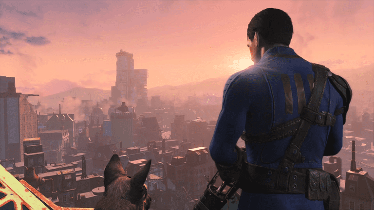 Fallout 4 City Vista