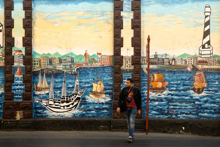 Street Art At Lion Gate Wall|©Elroy Serrao/Flickr